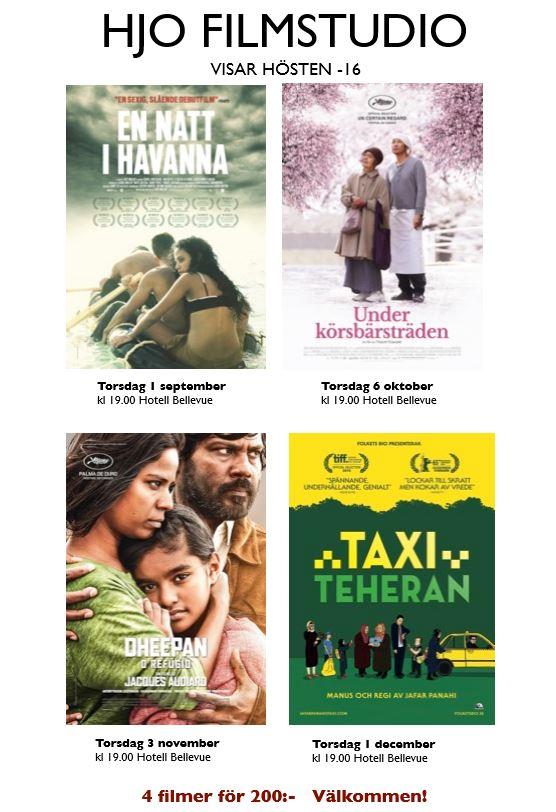 Filmer hösten 2016